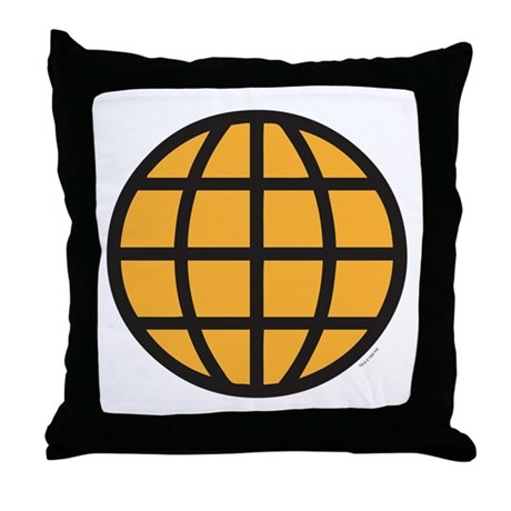 Captain Planet Throw Pillow