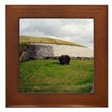 Newgrange Framed Tile