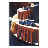 Vintage Fiat Advertising Post