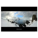 Panorama - Half Moon Island, Antarctica - Framed