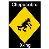 Cute Chupacabra Wall Art