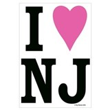 I LOVE NJ (Pink Heart)