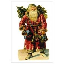 Vintage Santa with Bell