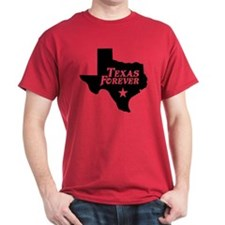 Texas Forever (Black - Cutout Ltrs) T-Shirt