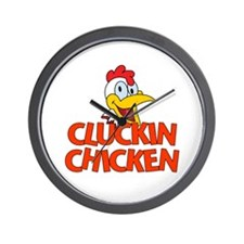 Cluckin Chicken Wall Clock
