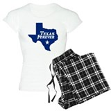 Texas Forever (Blue - Cutout Ltrs) pajamas
