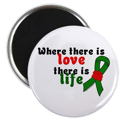 Love And Life Magnet