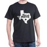 Texas Forever (White - Black Ltrs) T-Shirt