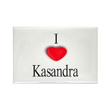 Kasandra Rectangle Magnet