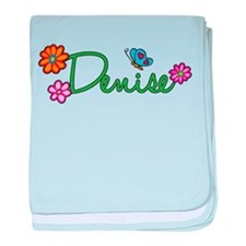 Denise Flowers baby blanket