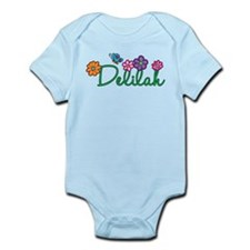 Delilah Flowers Infant Bodysuit