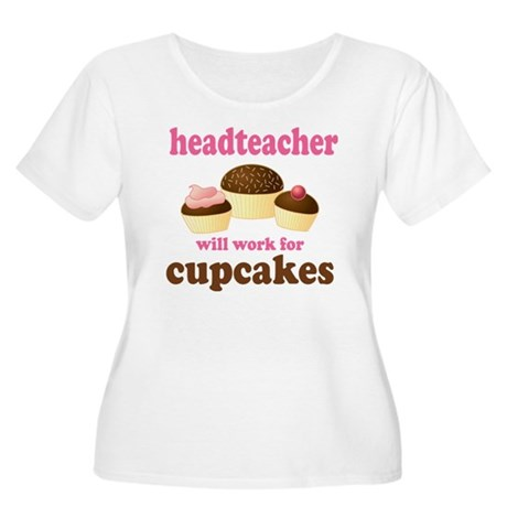 Funny Headteacher Women's Plus Size Scoop Neck T-S