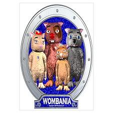 Wombies' Blue Group Portrait