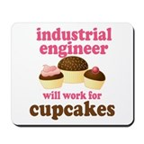 Funny Industrial Engineer Mousepad