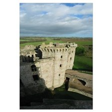 Panorama Raglan Castle