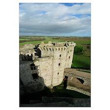 Panorama Raglan Castle