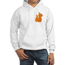 Cute Red Squirrel Hoodie