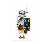 Cute Roman Gladiator Sticker (10 Pk)