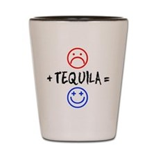 Plus Tequila Shot Glass