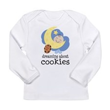 Dreaming About Cookies Long Sleeve Infant T-Shirt
