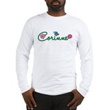 Corinne Flowers Long Sleeve T-Shirt