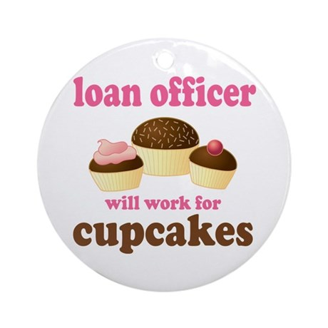 Funny Loan Officer Ornament (Round)