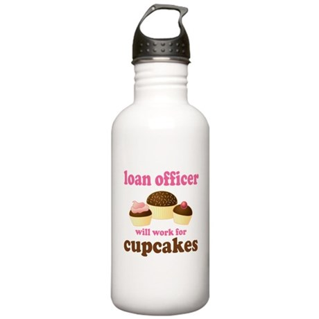 Funny Loan Officer Stainless Water Bottle 1.0L