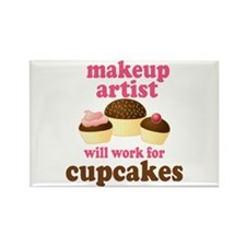 Funny Makeup Artist Rectangle Magnet