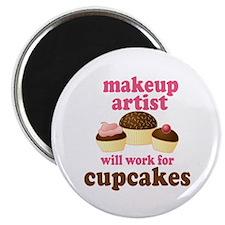 Funny Makeup Artist Magnet