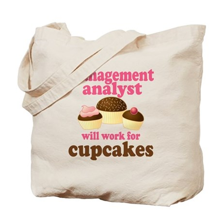 Funny Management Analyst Tote Bag