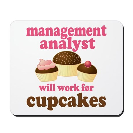 Funny Management Analyst Mousepad