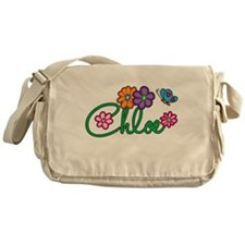 Chloe Flowers Messenger Bag