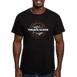 Men's Fitted Walleye Slayer T-Shirt (dark)