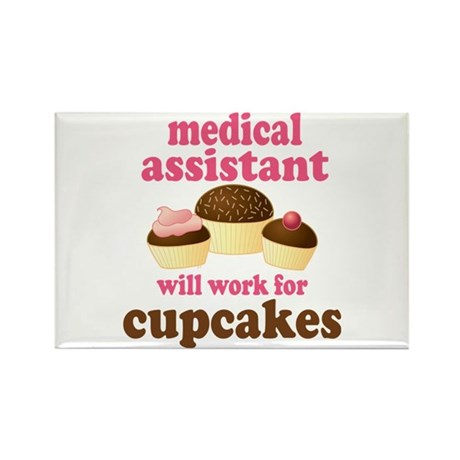Funny Medical Assistant Rectangle Magnet