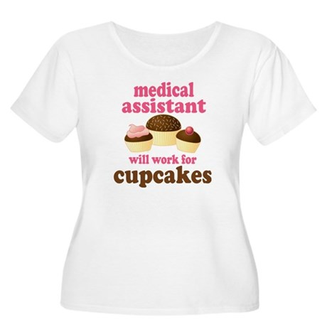 Funny Medical Assistant Women's Plus Size Scoop Ne