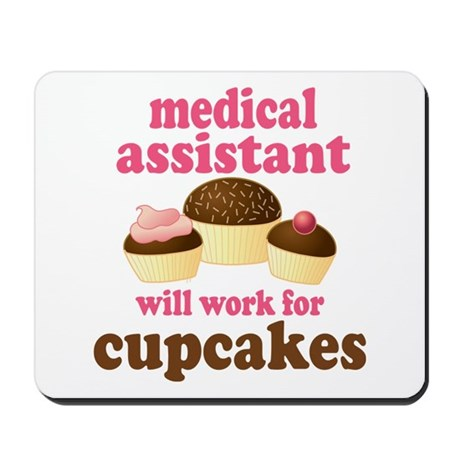 Funny Medical Assistant Mousepad