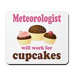 Funny Meteorologist Mousepad