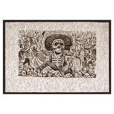 Calavera of Oaxaca Print