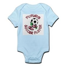 Future Soccer Player Girl Infant Creeper