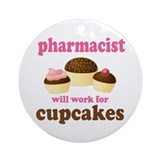 Funny Pharmacist Ornament (Round)