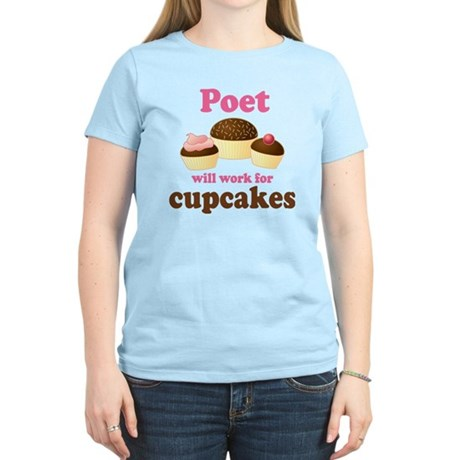 Funny Poet Women's Light T-Shirt