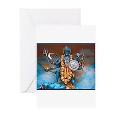 Kali Ma Greeting Cards