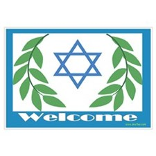 Jewish Welcome Star of David
