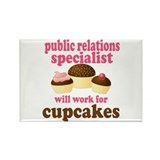 Funny Public Relations Specialist Rectangle Magnet