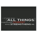 Philippians 4:13 Print