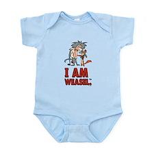 I Am Weasel Friends Infant Bodysuit