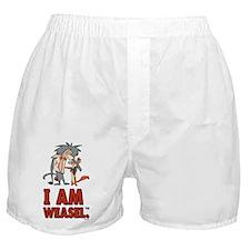 I Am Weasel Friends Boxer Shorts