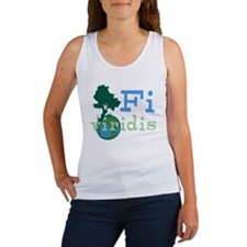 Go Green (Latin) Women's Tank Top