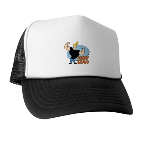 Johnny Bravo Trucker Hat