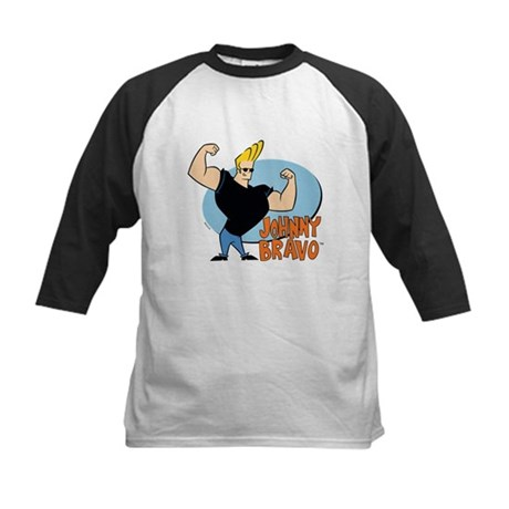 Johnny Bravo Kids Baseball Jersey